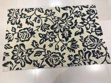 Machine Woven Anti Slip Cotton Bath Mat