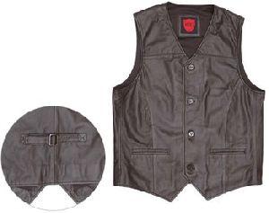 Kavaci Austin - Classic Leather Vest