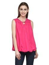 Top Pink Color Ladies Wear Ladies Blouse And Top