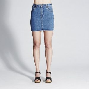 High Quality Cotton Mini Denim Skirts