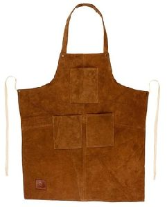 Leather Grill Work Apron