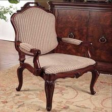 Antique Style Reproduction French Dining Living Room Teak Wood Chair