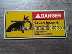 Aluminium Warning Sign Boards