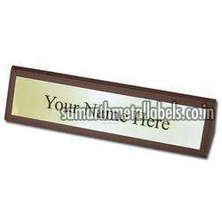 Stainless Steel Table Name Plates