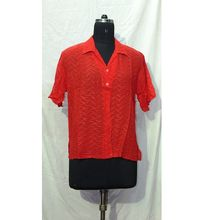 High Quality Georgette Ladies Casual Shirts