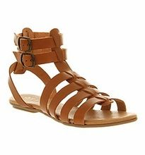 Leather Gladiator Sandals For Ladies