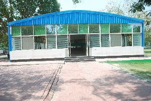 Pre Fabricated Tubular Steel Building