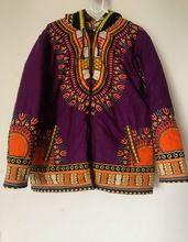 Unisex African Traditional Dashiki Winter Jacket