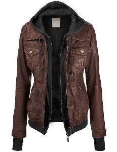 Handmade Women Leather Jacket