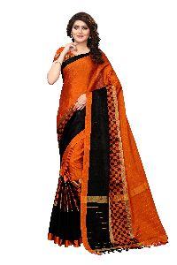 Heavy Silk Cotton Saree In Wholesale Prise