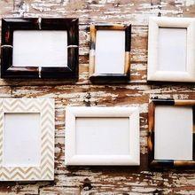 Handmade Horn Photo Frames