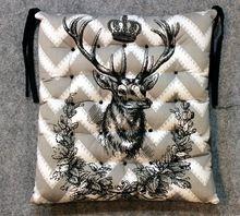 Fiber Filled Cotton Chair Cushion