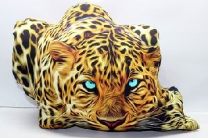 Printed Filled Cotton Pillow