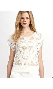 White Lace Tops
