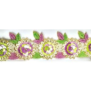 Flower Sequence Lace