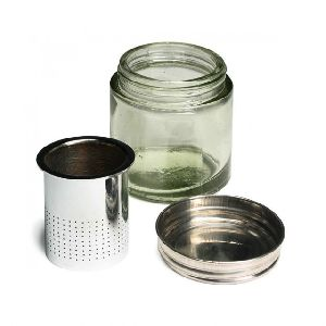 Diamond Cleaning Jar With Glass Bottle
