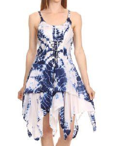Handkerchief Strap Dress