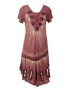 Tree Caftan Tank Dress