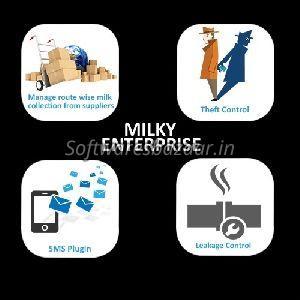 Milky Enterprise Milk Chilling Plant Erp Software