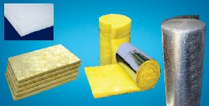 Glass wool and rockwool