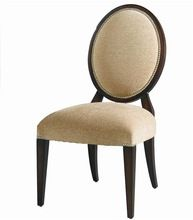 Wooden Round Back Dining Chair