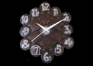Coconut Shell Clock