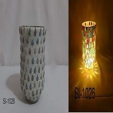Designer Mosaic Glass Table Decorative Votive Candle