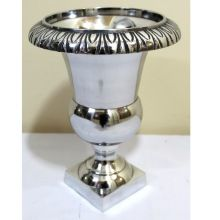 Aluminium Metal Flower Vase Garden Decorative