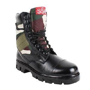 Cobra Commando Tough Leather Boots