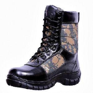 Combat Commando Tough Leather Boots