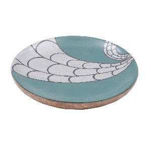 Printed Resin Serving Round Plate
