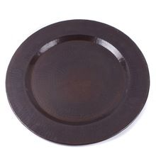Black Charger Plate