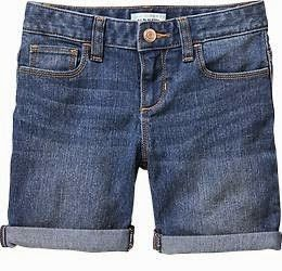 Dark Denim Short