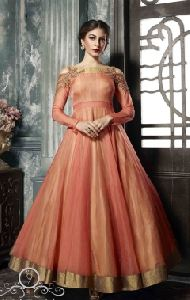 Anarkali Gown Af-3042 Wedding Dress