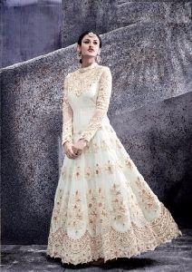 Designer Full Length Anarkali Style Gown Suit