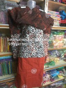 Batik Salwar Kurta Duppta