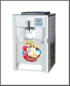 Single Flavour Softy Ice Cream Making Machine