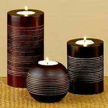 New Designed Wooden Candle Holder