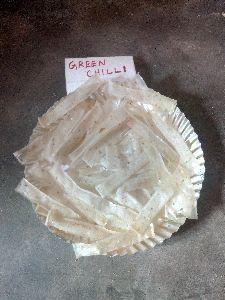 Green Chilli Ribbon Vadagam