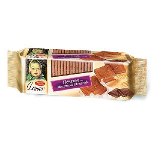 Alyonka Biscuits With Chocolate