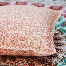 Cotton Canvas Printed Cushion Cover Pillow Case
