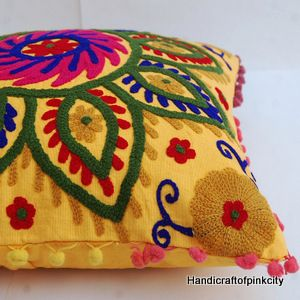 Pillow Cases Embroidered Cushion Cover