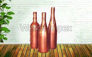 Copper Wine Bottle