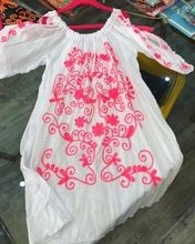 Embroidered Cover Up Kaftan