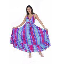 Handmade Sari Silk Maxi Dress