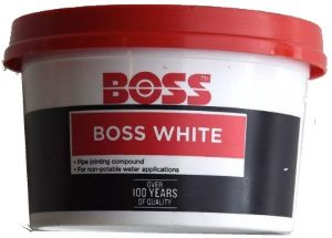 PIPE JOINING COMPOUND BOSS WHITE