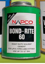 Pvc Pipe Cement Clear Napco Bondrite