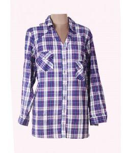 Women Multi Check Print Shirt