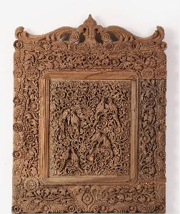 Walnut Wood Carving