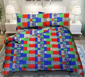 3d Designer Double Bed Sheet